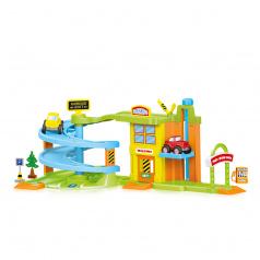 DOLU Dětský garážový set