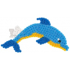 HAMA zažehlovací korálky - MIDI podložka delfín