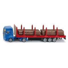 SIKU Blister - Kamión se dřevem 1:87