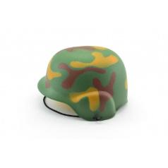 Helma přilba vojenská plast 20cm v síťce