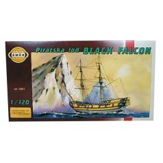 Směr modely plastové BLACK Falcon         loď 1:120