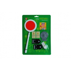 EFKO dětská hrací sada Malý policista na kartě