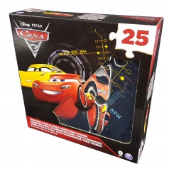 Cars 3 PĚNOVÉ PUZZLE 25KS