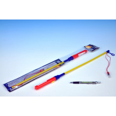 Hůlka k lampionu 50cm na baterie v sáčku karneval