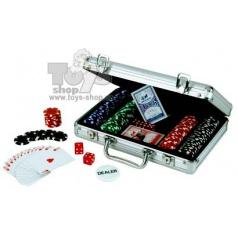 ALBI Poker Deluxe v kufříku 200 chips