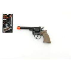 Pistole - Kolt na kapsle 8 ran plast 19cm na kartě