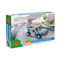 Alexander kovová stavebnice Policie 158-malý konstruktér