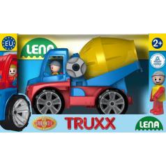 LENA Truxx domíchávač v okrasné krabici