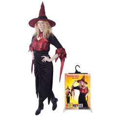 Karnevalový kostým čarodějnice dospělá, velikost M