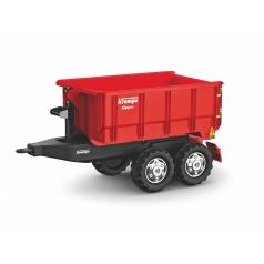 ROLLYTOYS 123223 Vlečka za traktor Krampe červená