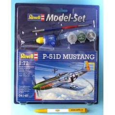 Revell ModelSet letadlo 64148 - P-51D Mustang (1:72)