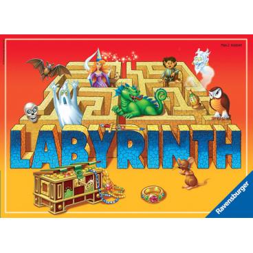 Ravensburger hra Tajemný labyrint - Bláznivé bludiště Tajemnice Labyrintu