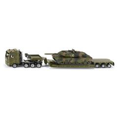 SIKU Super - Těžký transportér přepravující tank, 1:87