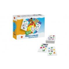 Alexander Sleduj a najdi - Barevné piktogramy společenská hra v krabici 24x20x5cm