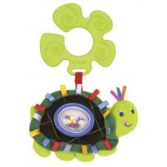 K´s Kids Úchyt na kočárek - chrastící želva
