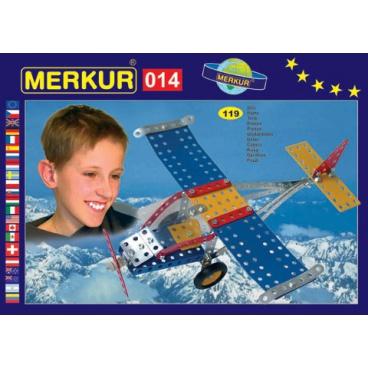 MERKUR kovová stavebnice Letadlo
