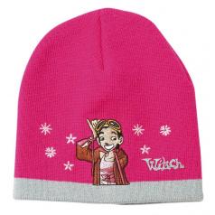 """Zimní čepice růžová """"Witch"""""""
