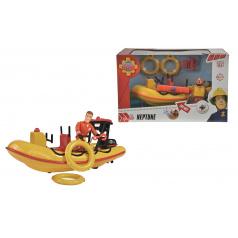 Dickie figurka Požárník Sam + záchranný člun Neptun 20cm