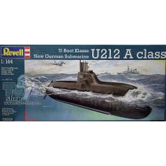Revell ponorka 05019 German Submarine U212A class 1:144
