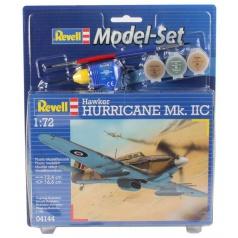 Revell ModelSet letadlo 64144 - Hawker Hurricane Mk. IIC (1:72)