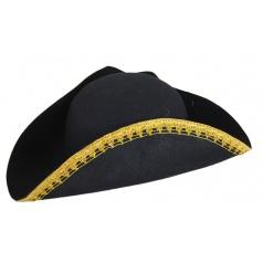 Karnevalový klobouk pirátský dospělý