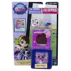 Hasbro Littlest Pet Shop LPS  Zvířátko s mini domečkem B0092