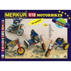 Merkur stavebnice M018 Motocykly