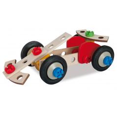 HEROS Constructor Racer, 3 modely dřevěná stavebnice
