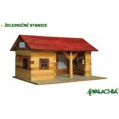 Walachia dřevěná stavebnice - Železniční stanice