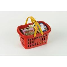Klein Nákupní košík s maketami potravin