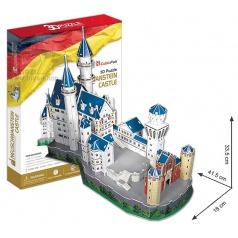 3D Puzzle Zámek Neuschwanstein 98 dílků