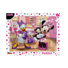 Dino Puzzle deskové Minnie 37x29cm 40 dílků