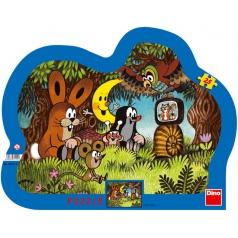 DINO dětské puzzle Večer u Krtečka        25D