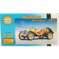 Směr model auta Mercer Raceabout 1912 12,5x5,5cm v krabici 25x14,5x4,5cm