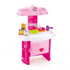 DOLU Dětská kuchyňka plastová s příslušenstvím