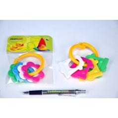 Kousátka tvary plast 10cm v sáčku 0m+