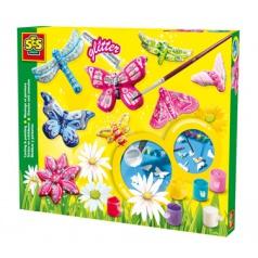 SES Výroba broží- motýli