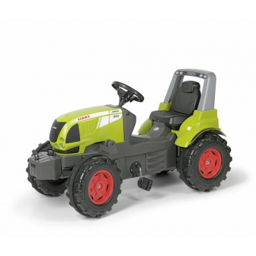 ROLLYTOYS Šlapací traktor Farm CLAAS Airon