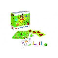 Alexander Zábavné slabiky vzdělávací společenská hra v krabici 19,5x18,5x5cm
