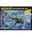 MERKUR kovová stavebnice Helikopter set