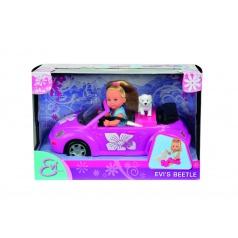 SIMBA Panenka Evička s autem New Beetle
