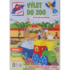 """Časopis """"WOODYLAND"""" SPECIÁL, Výlet do ZOO"""