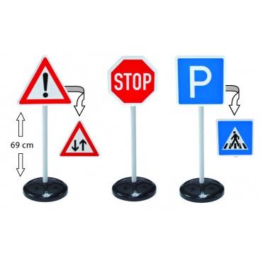 Dopravní značky BIG, velká sada (5 typů)