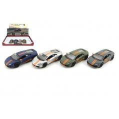 Auto Kinsmart Lamborghini Huracan kov 12cm na zpětné natažení asst 4 barvy