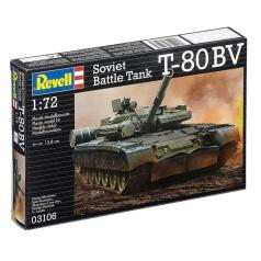 Revell Plastic ModelKit tank 03106 - T-80 BV (1:72)