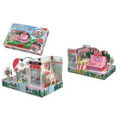 Trefl Skládačka prostorová Obchod Myšky Minnie v krabici 40x27x6cm
