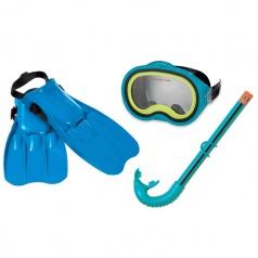 INTEX 55952 Potápěčské brýle + šnorchl + ploutve sada