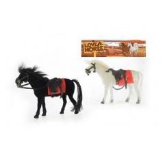 Kůň fliška 14cm asst 2 barvy v sáčku