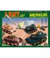 Merkur kovová stavebnice Army set