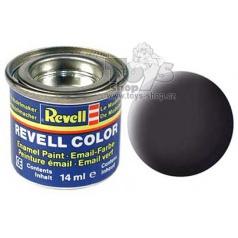 Barva Revell emailová matná dehtově černá č. 06
